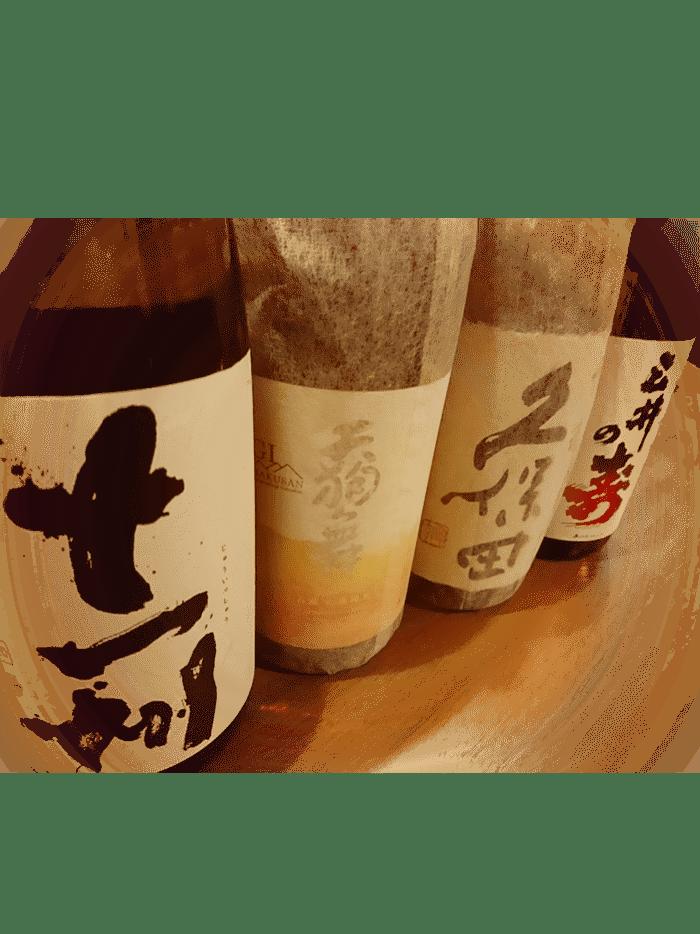 日本酒は豊富にご用意